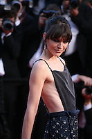 Actress Milla Jovovich at the 'Behind The Candelabra' gala screening at the Cannes Film Festival  Tuesday 21 May 2013