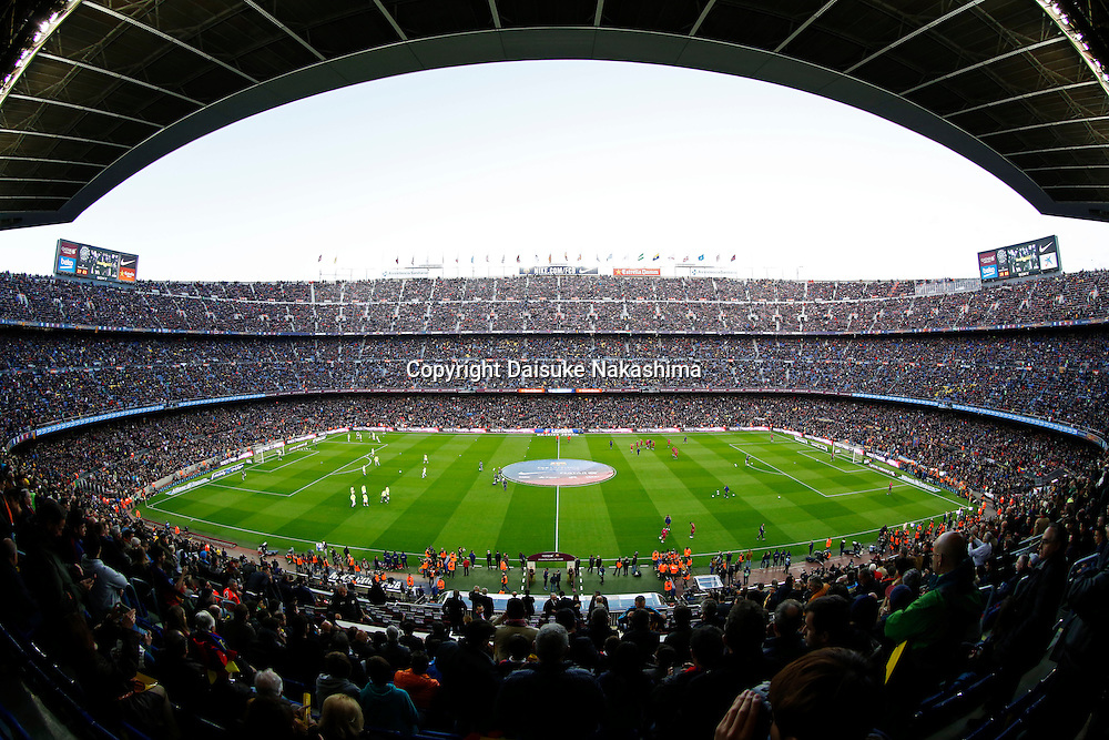 "Camp Nou Stadium, APRIL 2, 2016 - Football / Soccer : Spanish Primera Division ""Liga BBVA"" match between FC Barcelona 1-2 Real Madrid at Camp Nou stadium in Barcelona, Spain. (Photo by D.Nakashima/AFLO)"