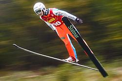 Logar Eva during national competition in Ski Jumping, 8th of October, 2016, Kranj,  Slovenia. Photo by Grega Valancic / Sportida