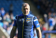 James Lowes (Coach) of Leeds Rhinos during the Super 8s The Qualifiers match at Mbi Shay Stadium, Halifax<br /> Picture by Stephen Gaunt/Focus Images Ltd +447904 833202<br /> 23/09/2018