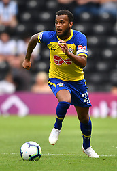 """Southampton's Ryan Bertrand during a pre season friendly match at Pride Park, Derby. PRESS ASSOCIATION Photo. Picture date: Saturday July 21, 2018. Photo credit should read: Anthony Devlin/PA Wire. EDITORIAL USE ONLY No use with unauthorised audio, video, data, fixture lists, club/league logos or """"live"""" services. Online in-match use limited to 75 images, no video emulation. No use in betting, games or single club/league/player publications."""