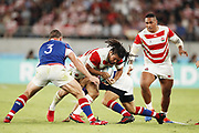 Shota HORIE (JPN) during the Japan 2019 Rugby World Cup Pool A match between Japan and Russia at the Tokyo Stadium in Tokyo on September 20, 2019.