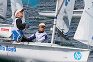 2013 Isaf Test Event | day 1| 470 Women