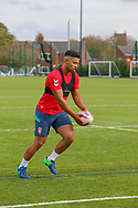 Kruise Leeming of Leeds Rhinos during the England Knights training session at Leigh Sports Village, Leigh<br /> Picture by Steve McCormick/Focus Images Ltd 07545 862647<br /> 17/10/2018