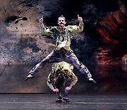 The Nutcracker <br /> choreography by Sir Peter Wright <br /> at the <br /> Birmingham Royal Ballet <br /> Birmingham Hippodrome, Great Britain <br /> 24th November 2017 <br /> <br /> Chinese dance <br /> <br /> Photograph by Elliott Franks <br /> Image licensed to Elliott Franks Photography Services