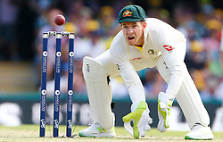 Australia's Tim Paine during day one of the Ashes Test match at The Gabba, Brisbane.
