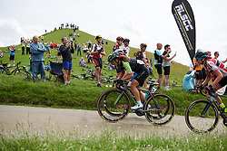 Rossella Ratto (ITA) near the top of the Burton Dassett climb at OVO Energy Women's Tour 2018 - Stage 3, a 151 km road race from Atherstone to Leamington Spa, United Kingdom on June 15, 2018. Photo by Sean Robinson/velofocus.com