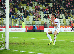 November 15, 2018 - Gdansk, Pomorze, Poland - Przemyslaw Frankowski (21) during the international friendly soccer match between Poland and Czech Republic at Energa Stadium in Gdansk, Poland on 15 November 2018  (Credit Image: © Mateusz Wlodarczyk/NurPhoto via ZUMA Press)