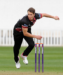 Somerset's Adam Dibble - Photo mandatory by-line: Harry Trump/JMP - Mobile: 07966 386802 - 30/03/15 - SPORT - CRICKET - Pre Season Fixture - T20 - Somerset v Gloucestershire - The County Ground, Somerset, England.
