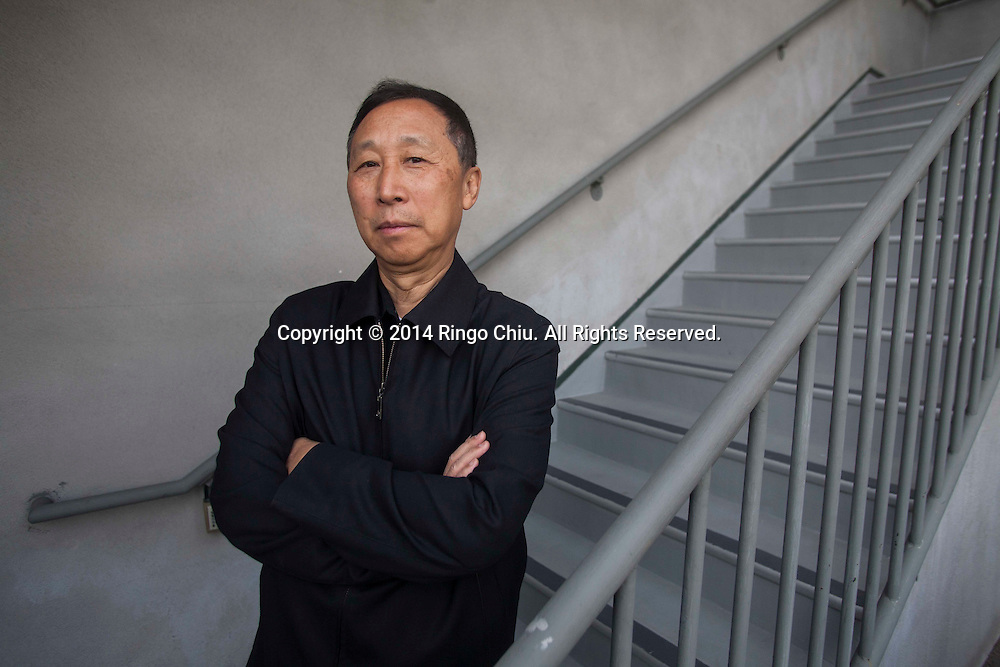 Sun Tiangang, former chairman of GeoMaxima Energy Holdings is photographed in Los Angeles on January 28, 2014. Sun has filed a writ in the federal court in Los Angeles, accusing Sinopec of malicious prosecution among other allegations, Bloomberg reported. He claimed that state-backed Sinopec and the mainland government were responsible for his arrest in 2005 after he sued Sinopec in Beijing for breaching an oil transportation agreement. Sun said he was arrested in August 2005 and not brought before a judge until about three years later.