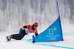 24-02-2018 KOR: Olympic Games day 15, PyeongChang<br /> Parallel Giant Slalom / Zan Kosir SLO