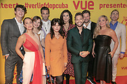 2019, Februari 11. Vue, Hilversum. Premiere van Verliefd op Cuba. Op de foto: De cast en regisseur