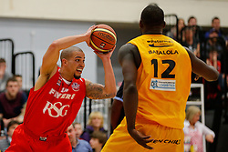 Doug McLaughlin-Williams of Bristol Flyers - Photo mandatory by-line: Rogan Thomson/JMP - 07966 386802 - 07/03/2015 - SPORT - BASKETBALL - Bristol, England - SGS Wise Arena - Bristol Flyers v Sheffield Sharks - BBL Championship.