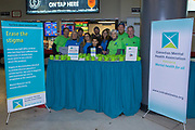 KELOWNA, CANADA - FEBRUARY 17:  Canadian Mental Health Association at the Kelowna Rockets game on February 17, 2018 at Prospera Place in Kelowna, British Columbia, Canada.  (Photo By Cindy Rogers/Nyasa Photography,  *** Local Caption ***