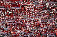 KRAKOW 10/05/2009.EKSTRAKLASA.SEZON 2008/2009.MECZ WISLA KRAKOW v LEGIA WARSZAWA.NA ZDJ. KIBICE WISLY ..FOT. PIOTR HAWALEJ / WROFOTO