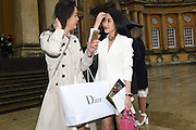JADE JIN; JING SHI;, Dior presentation of the Cruise 2017 collection. Blenheim Palace, Woodstock. 31 May 2016