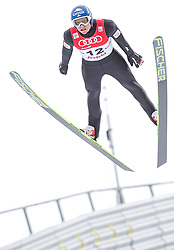 18.01.2014, Casino Arena, Seefeld, AUT, FIS Weltcup Nordische Kombination, Seefeld Triple, Skisprung, im Bild Bernhard Gruber (AUT) // Bernhard Gruber (AUT) during Ski Jumping at FIS Nordic Combined World Cup Triple at the Casino Arena in Seefeld, Austria on 2014/01/18. EXPA Pictures © 2014, PhotoCredit: EXPA/ JFK