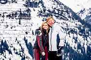 The Dutch Royal family with King Willem-Alexander (R) and Queen Maxima (L) pose for the media during their annual photo session ahead of their private winter vacations in Lech, Austria, 25 February 2020.<br /> 25 Feb 2020