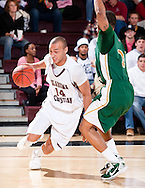 January 13, 2011: The Oklahoma Baptist University Bison play against the Oklahoma Christian University Eagles at the Eagles Nest on the campus of Oklahoma Christian University.