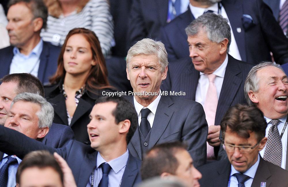 2016.06.20 Saint Etienne<br /> Pilka nozna Euro 2016<br /> mecz grupy B Slowacja - Anglia<br /> N/z Arsene Wenger<br /> Foto Norbert Barczyk / PressFocus<br /> <br /> 2016.06.20 Saint Etienne<br /> Football UEFA Euro 2016 group B game between Slovakia and England<br /> Arsene Wenger<br /> Credit: Norbert Barczyk / PressFocus