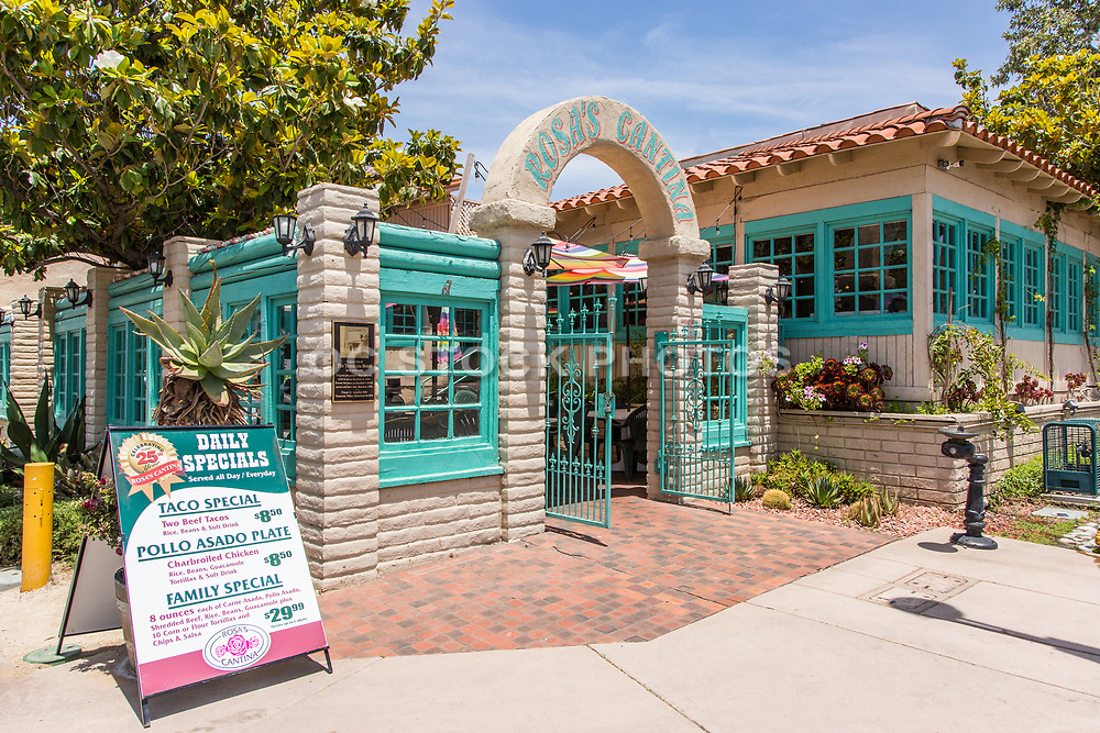 Rosa's Cantina on Old Town Front Street Temecula