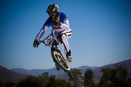 #126 (ENDARA MADERA Fausto Andres) ECU the 2013 UCI BMX Supercross World Cup in Chula Vista