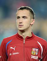 Fussball International, Nationalmannschaft   EURO 2012 Play Off, Qualifikation, Tschechische Republik - Montenegro        11.11.2011 Tomas Pekhart (Tschechische Republik)