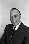 02/04/1963<br /> 04/02/1963<br /> 02 April 1963<br /> Long Service Awards recipients at Irish Shell, Fleet Street Dublin. Mr W.C. Darlington.