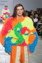 © Licensed to London News Pictures. 28/05/2013. London, England. Knitwear collection by Rachel Choi. Central St Martins BA Fashion show with collections by graduate fashion students. Photo credit: Bettina Strenske/LNP