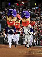 MLB: San Francisco Giants at Arizona Diamondbacks//20110924