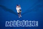 Victoria Azarenka (BLR). Day 13. Womens Singles Final. Australian Open Grand Slam Tennis Championship. Melbourne Olympic Park, Melbourne, Victoria, Australia. 26/01/2013. Photo By Lucas WroeVictoria Azarenka (BLR). Day 13. Womens Singles Final. Australian Open Grand Slam Tennis Championship. Melbourne Olympic Park, Melbourne, Victoria, Australia. 26/01/2013. © 2013 Sport the library /Lucas Wroe