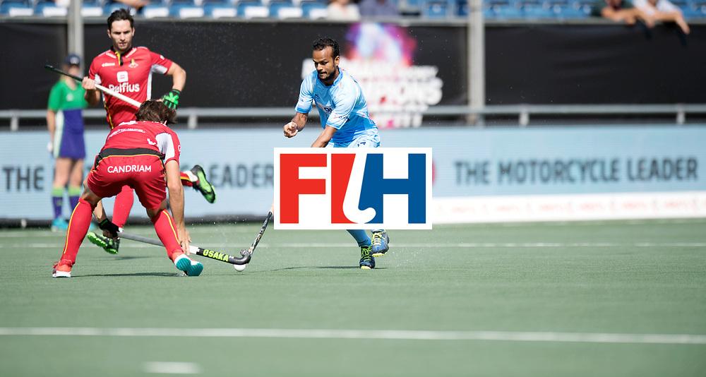 BREDA - Rabobank Hockey Champions Trophy<br /> India - Belgium<br /> Photo: UPADHYAY Lalit.<br /> COPYRIGHT WORLDSPORTPICS FRANK UIJLENBROEK