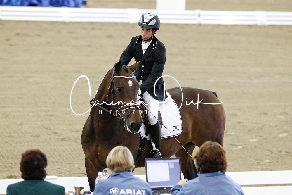 Dresler Yonatan (ISR) - Odipous<br /> Alltech FEI World Equestrian Games <br /> Lexington - Kentucky 2010<br /> © Hippo Foto - Leanjo de Koster