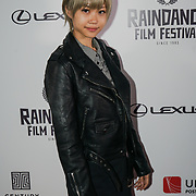 London, England, UK. 28th September 2017. Urara Aujo is a Actress of Noise attend Raindance Film Festival Screening at Vue Leicester Square, London, UK.