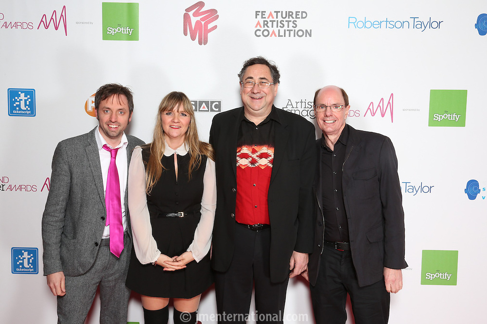 The Artist and Manager Awards 2012, held at The Troxy, London. Tuesday, Nov.27, 2012 (Photo/John Marshall JME)