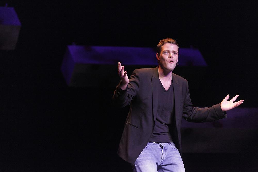 Comedian Martijn Koning // Cabaretier Martijn Koning.