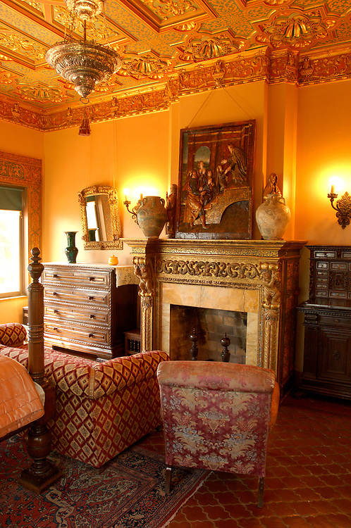 Guest House rooms, Hearst Castle State Park, San Simeon, California, United States of America