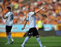 Wolverhampton Wanderers/Fulham Premiership 23.04.11<br />Photo: Tim Parker Fotosports International<br />Andy Johnson Fulham celebrates equalizing goal