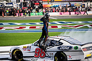 September 28-30, 2018. Charlotte Motorspeedway, Xfinity Series, Drive for the Cure 200: Chase Briscoe, Biagi-DenBeste Racing, Ford