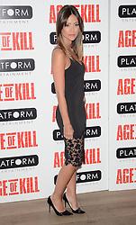Anoushka Mond attends Age of Kill VIP Screening at the Ham Yard Hotel, Soho, London on Wednesday 1 April 2015