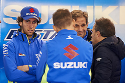 November 20, 2018 - Valencia, Spain - Alex Rins (42) of Spain and Team Suzuki Ecstar during the tests of the new MotoGP season 2019 at Ricardo Tormo Circuit in Valencia, Spain on 20th Nov 2018  (Credit Image: © Jose Breton/NurPhoto via ZUMA Press)