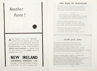 All Ireland Senior Hurling Championship Final,.01.09.1957, 09.01.1957, 1st September 1957,.Minor Kilkenny v Tipperary, .Senior Kilkenny v Waterford, Kilkenny 4-10.Waterford 3-12,..Advertisement, New Ireland Assurance Company Ltd., ..The Rose of Mooncoin,