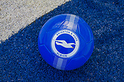A Brighton & Hove Albion Football ahead of the Premier League match between Brighton and Hove Albion and Burnley at the American Express Community Stadium, Brighton and Hove, England on 14 September 2019.