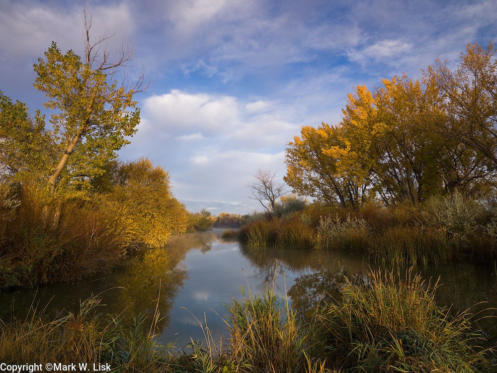 Fall along the lower Owyhee River near it confluence with the Snake River.
