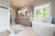 Modern Master Bathroom interior photo.