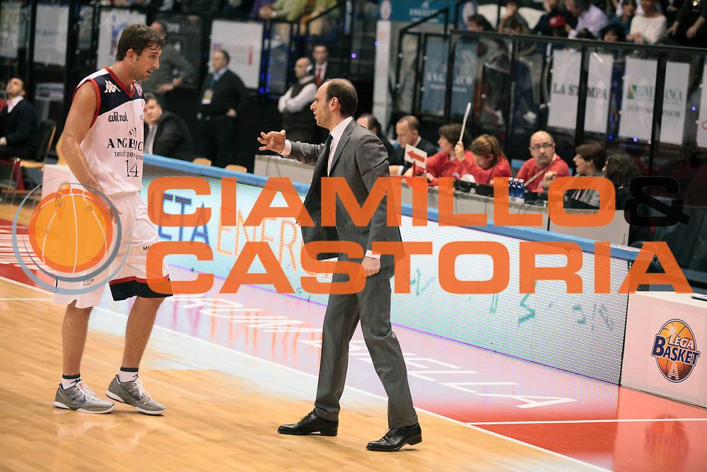 DESCRIZIONE : Biella Lega A 2010-11 Angelico Biella Fabi Shoes Montegranaro<br /> GIOCATORE : Massimo Cancellieri Goran Suton<br /> SQUADRA : Angelico Biella<br /> EVENTO : Campionato Lega A 2010-2011<br /> GARA : Angelico Biella Fabi Shoes Montegranaro<br /> DATA : 16/01/2011<br /> CATEGORIA : Delusione<br /> SPORT : Pallacanestro<br /> AUTORE : Agenzia Ciamillo-Castoria/S.Ceretti<br /> Galleria : Lega Basket A 2010-2011<br /> Fotonotizia : Biella Lega A 2010-11 Angelico Biella Fabi Shoes Montegranaro<br /> Predefinita :