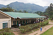The Bwindi Community Hospital in Buhoma village on the edge of the Bwindi Impenetrable Forest in Western Uganda. It serves around 250 000 people from the surrounding area.