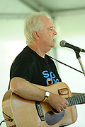 Bernard Carney performing at the inaugural Guildford Songfest