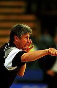 Tall Ferns head coach Carl Dickel during the Women's basketball match between the New Zealand Tall Ferns and Poland at the Olympics in Sydney, Australia on 16 September, 2000. Photo: Dean Treml/PHOTOSPORT<br />