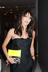 TAMARA MELLON at a party to celebrate Lancome's 10th anniversary of sponsorship of the BAFTA's in association with Harper's Bazaar magazine held at St.Martin's Lane Hotel, London on 19th February 2010.